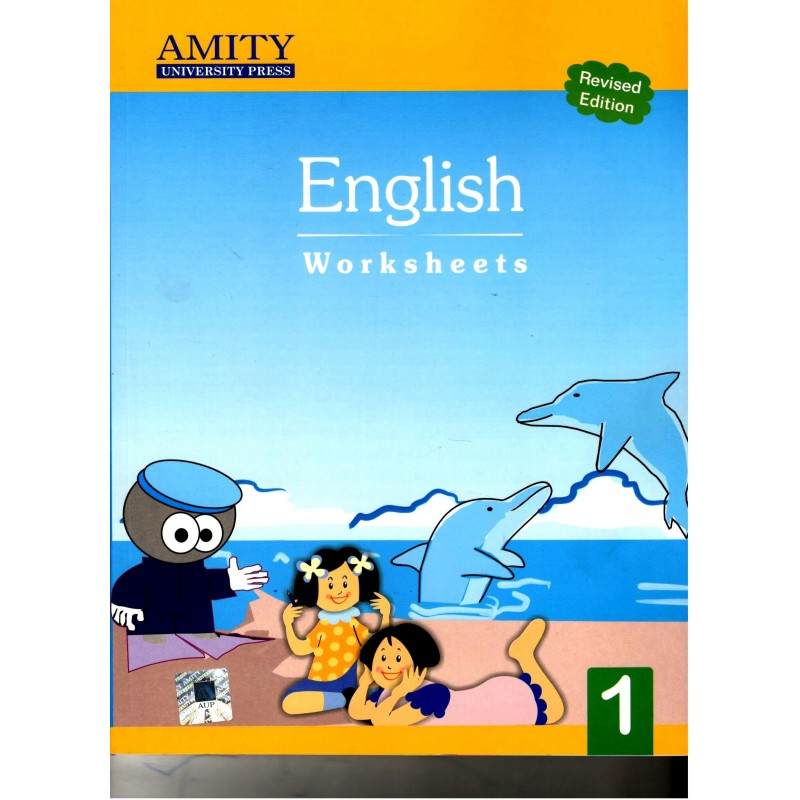 Amity English for Class 1 Worksheets