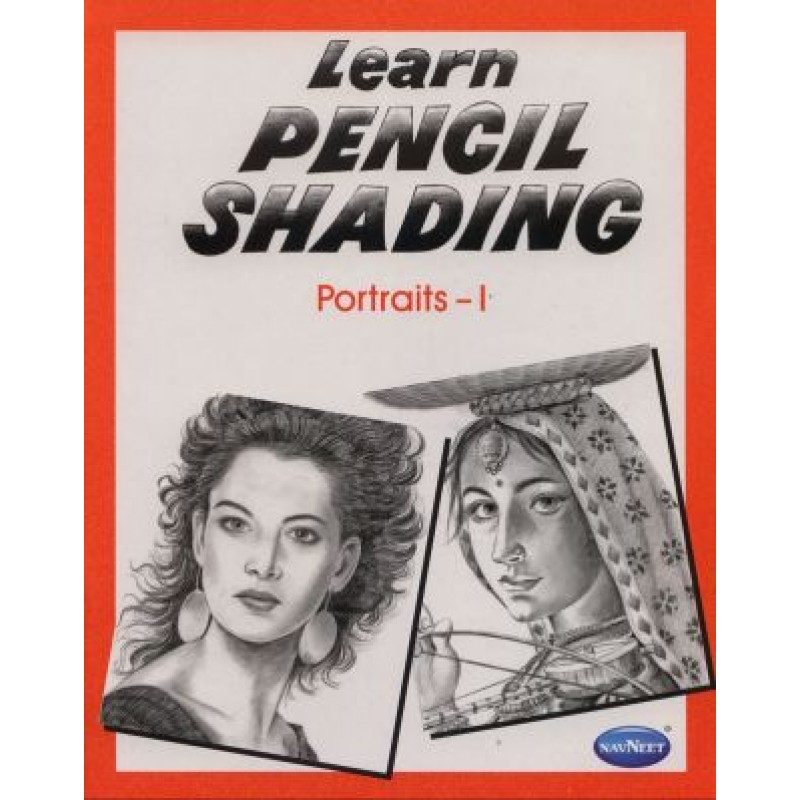 Navneet learn pencil shading portraits book 1