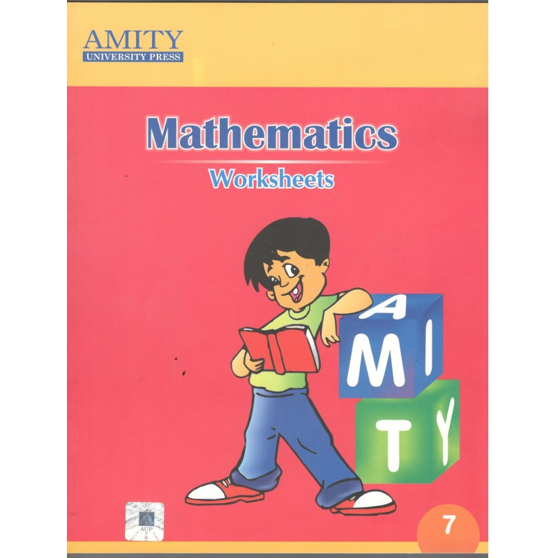 Amity Mathematics For Class 7 Worksheets
