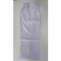 School Uniform Pant White (Elastic)