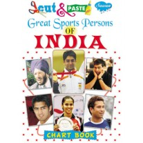 Cut & Paste Great Sports Persons of India - 044 (Manoj Publications)