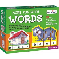 Creative Educational Aids School Years - More Fun with Words (0641)