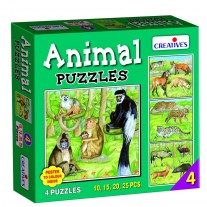 Creative Educational Aids Jigsaw Puzzles - Animal Puzzle No. 4 (0704)