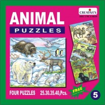 Creative Educational Aids Jigsaw Puzzles - Animal Puzzle No. 5 (0705)