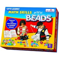Creative Educational Aids Pre-School - Let's Learn Math Skills with Beads (0942)