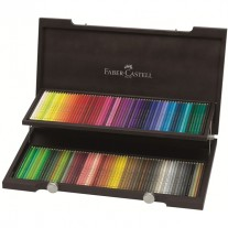 Faber-Castell Polychromos Artists Colour Pencils Wood Box of 120