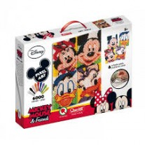 Toy Kraft Pixel Art Mickey Mouse & Friends