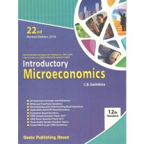 Geeta Introductory Microeconomics for Class 12 by CB Sachdeva (22nd Edition) 2018
