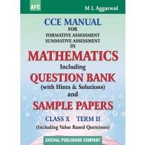 APC CCE Manual for Formative Assessment Summative Assessment in Mathematics (Term-2) for Class 10