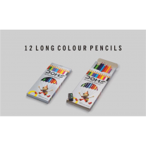Doms Colour Long Pencils FSC 12 Shades