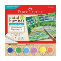 Faber Castell Paint by Number The Japanese Footbridge