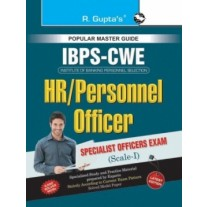 RPH IBPS Specialist Officers (HR/Personnel Officer)-Scale-I Common Written Exam Guide (R-1799) - 2018