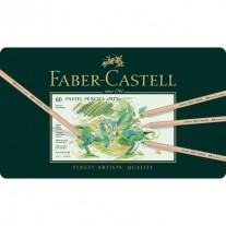 Faber Castell Pitt Pastel Pencils (Tin of 60)-112160