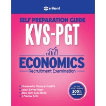 Arihant KVS PGT Self Preparation Guide Economics Recruitment Examination (2018)