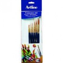 Artline Paint Brush Pony Round (Set of 7)