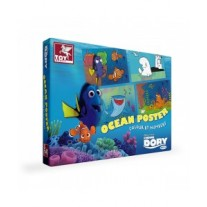 Toy Kraft Finding Dory - Ocean Poster - Colour by Numbers