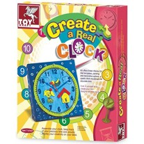Toy Kraft Create A  Real Clock