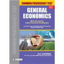 S Chand General Economics for Common Proficiency Test (CPT) by SK Agarwal