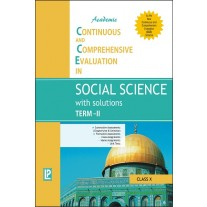 Academic CCE in Social Science with Solutions Term-II for Class 10 by Laxmi Publications