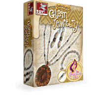Toy Kraft Paper Rolled - Glam Jewellery Set