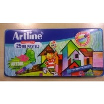 Artline Super Smooth 25 Oil Pastels