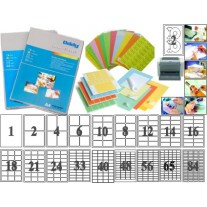 Oddy A3 Size White Paper Labels