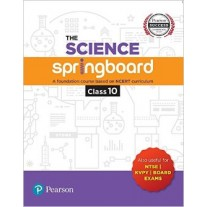 Pearson The Science Springboard A Foundation Course Based on NCERT Curriculum For Class 10