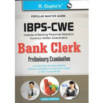 RPH IBPS-CWE Bank Clerk Preliminary Examination Guide (R-1466) - 2018