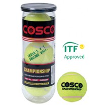 Cosco Championship Tennis Ball Pack of 3 Pcs.