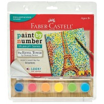 Faber Castell Paint by Number The Eiffel Tower