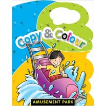 Copy & Colour  Amusement Park by Pegasus Books