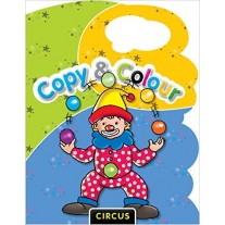 Copy & Colour Circus by Pegasus Books