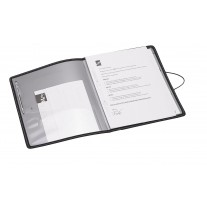 Trio Conference Gripper Folder with Pad & Chord Lock (C400) A4