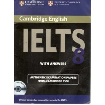 Cambridge University Press IELTS 8 Book with Answers