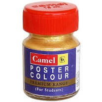 Camlin Kokuyo Premium Poster Color 15 ml (Gold)