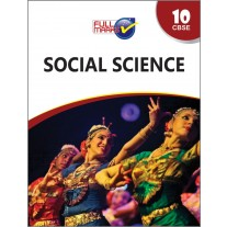 Full Marks Guide of Social Science for Class 10 (Term 1 & 2) by Dr. Kumkum Sinha