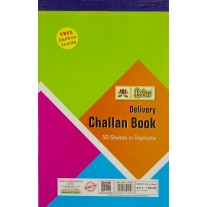 Lotus Challan Book in Triplicate - 50 Sheets