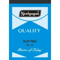 Neelgagan Slip Pads No-33 (Pack of 5)