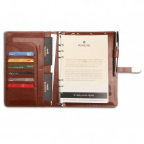 Pennline Notebook Organizer with 4000 mAh Powerbank and 4 GB Flash Drive