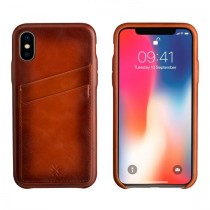 Pennline Leather Wallet Case for iPhones ( For iPhone X, 8, 7, 6+ & 6 )