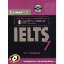 Cambridge IELTS 7 Book with Answers and Audio CDs