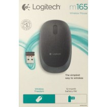 Logitech M165 Wireless Mouse Black