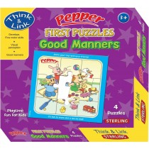 Sterling Pepper First Puzzle Good Manners