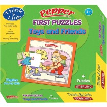 Sterling Pepper First Puzzle Toys and Friends
