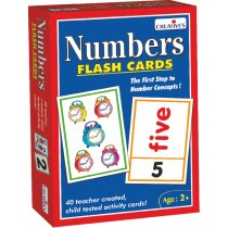 Creative Educational Aids Pre-School - Numbers Flash Cards (0520)