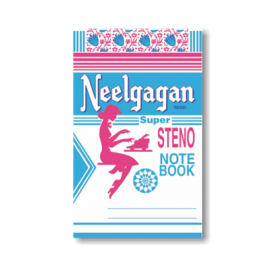 Neelgagan Notebooks Steno- 12.5cm x 19cm