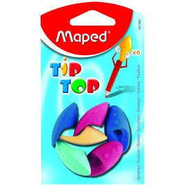 Maped Eraser Tip Top Blister Pack of 6 (001506)
