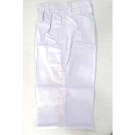 School Uniform Pant White (Belt)