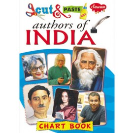 Cut & Paste Chart Book Authors of India - 042 (Manoj Publications)