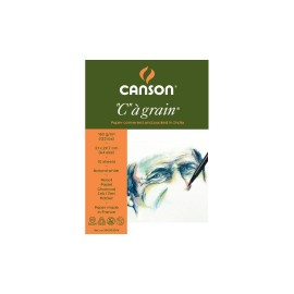 Canson C a' Grain 180 GSM A4 (Pack of 10 Fine Grain Sheets)